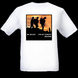 For My Country 2012 T-Shirt: White