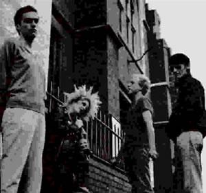 Pneumania on insert of The Split Single