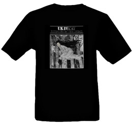 Rising From The Dread T-Shirt: Black
