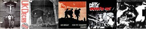 UK Decay Singles