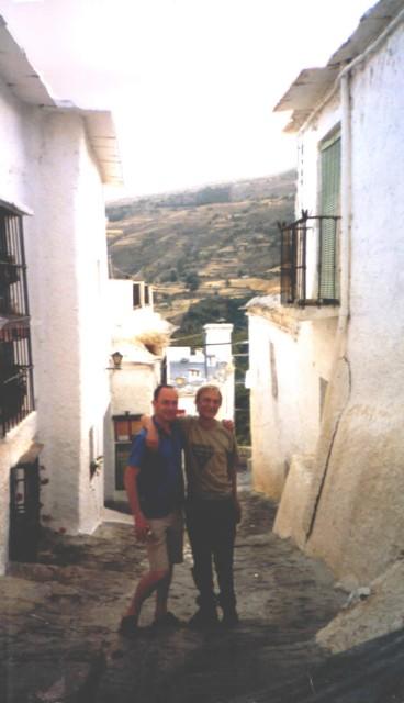 Julian Wolfendale & Dave Barr in Grenada Spain.