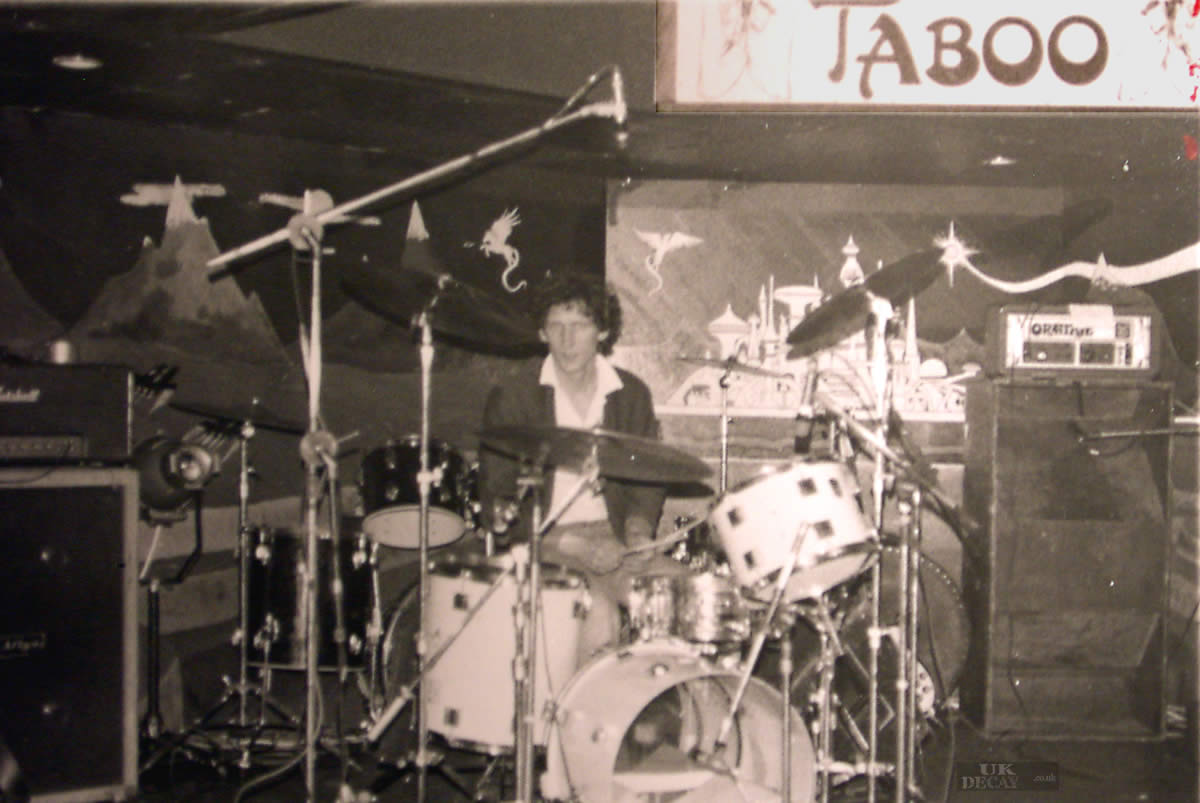 Captain has a 'Travolta-moment' at the scarborough tabboo club in 1981. Pic kindly submitted by Captain