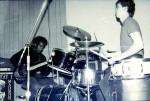 Hero's studio session 1982. ed steve 01 (photo by Video-Head)