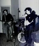 Hero's studio session 1982. Spon Abbo(photo by Video-Head)