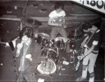 UK Decay with Creeton Chaos on bass at the Scarborough Tabbo club, 1981