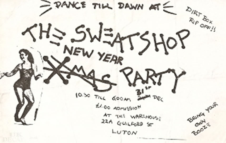 newyear's eve 1983 (pic courtesy of Neil Orr)
