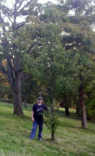 Spon at Steves Tree October 27th 2005