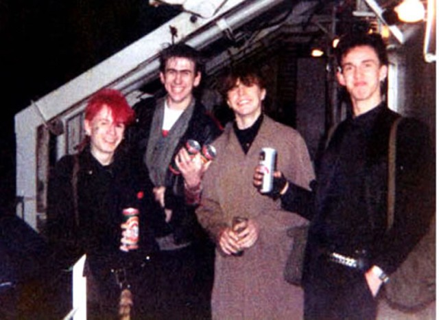 Passchendale & Friends on ferry 1983
