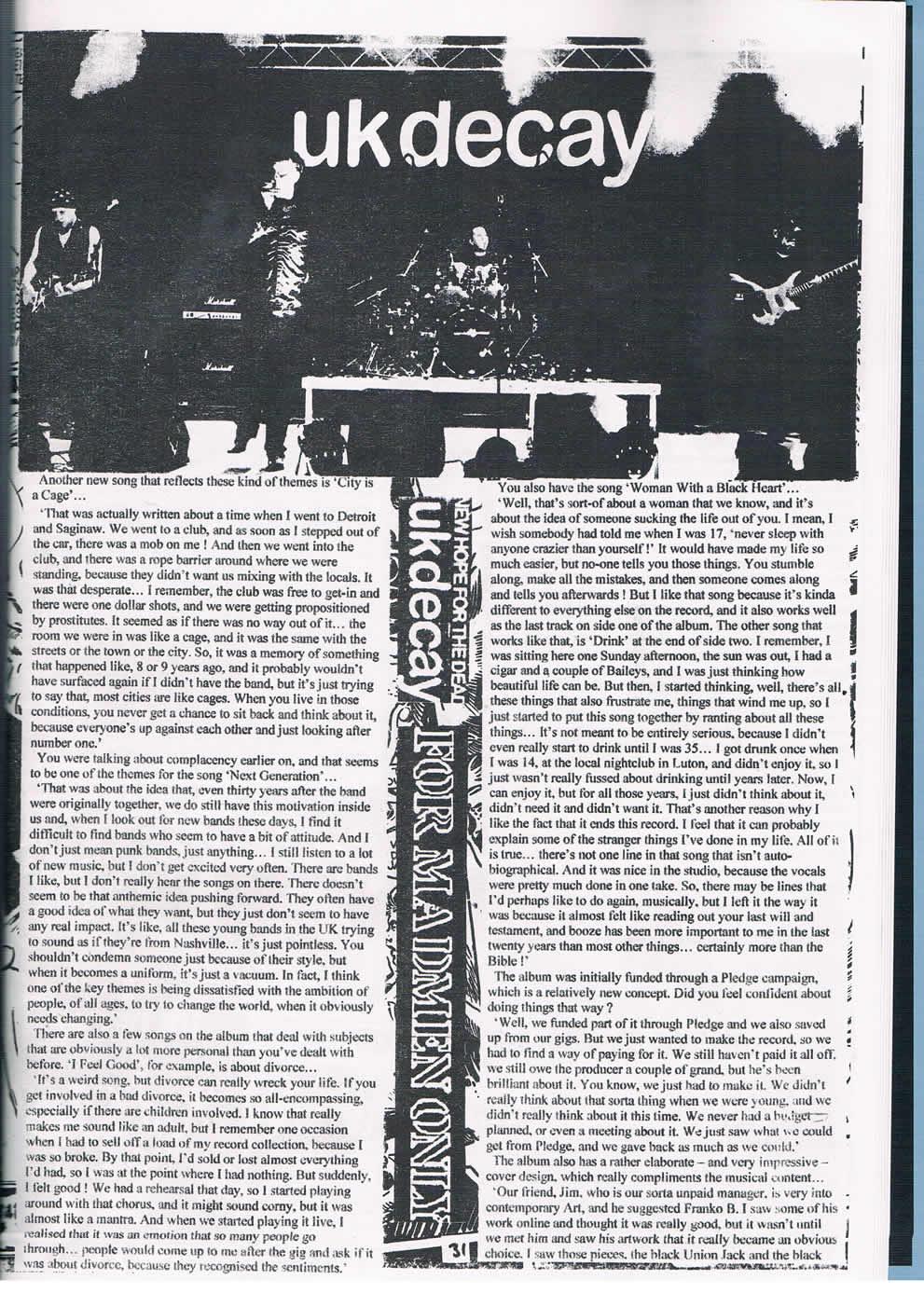 Fear & Loathing interview pt 2