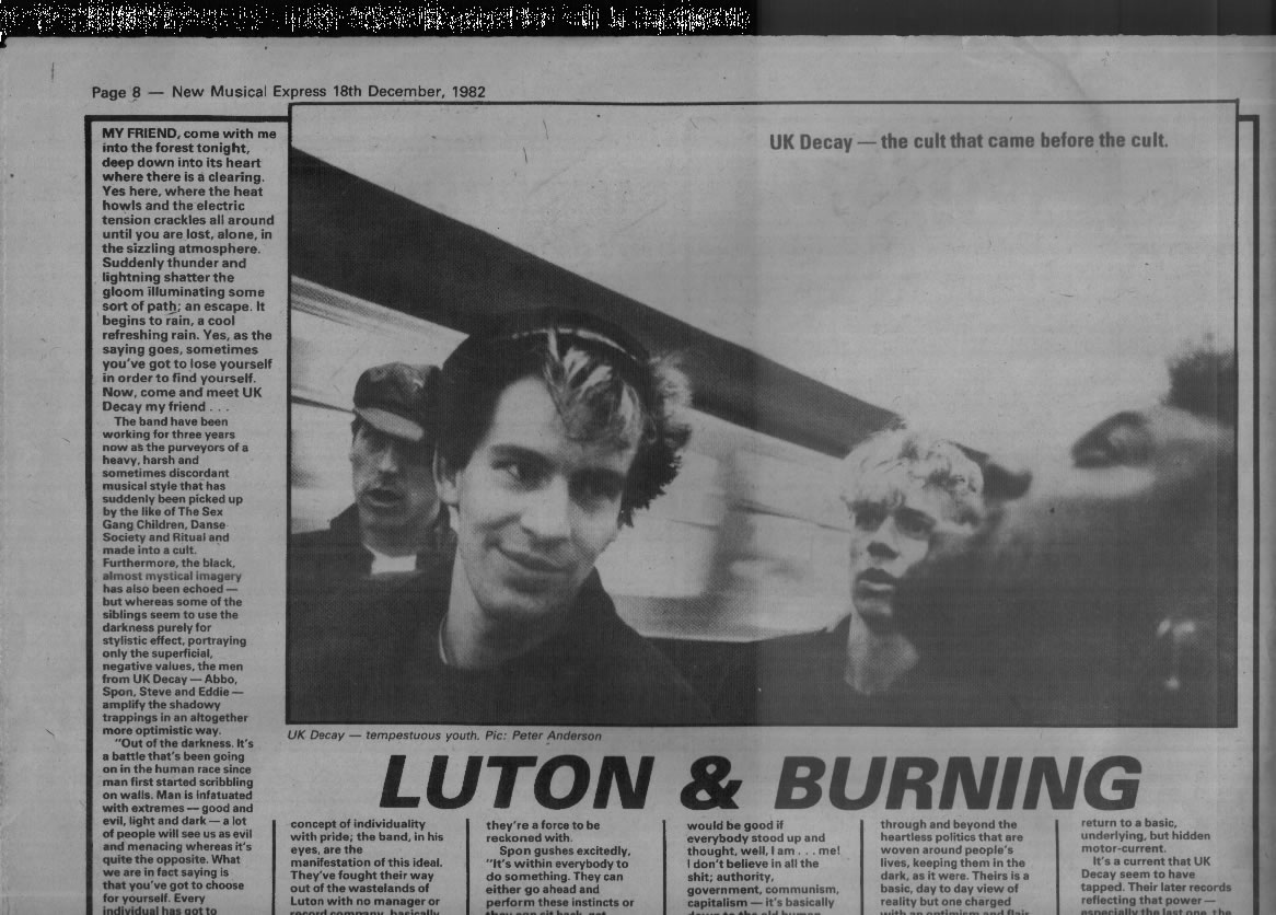NME dec 1982 pic1