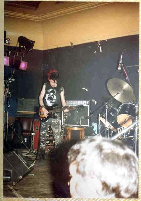 Ritual: Birmingham UK: Golden Eagle 16.2.83 pic2