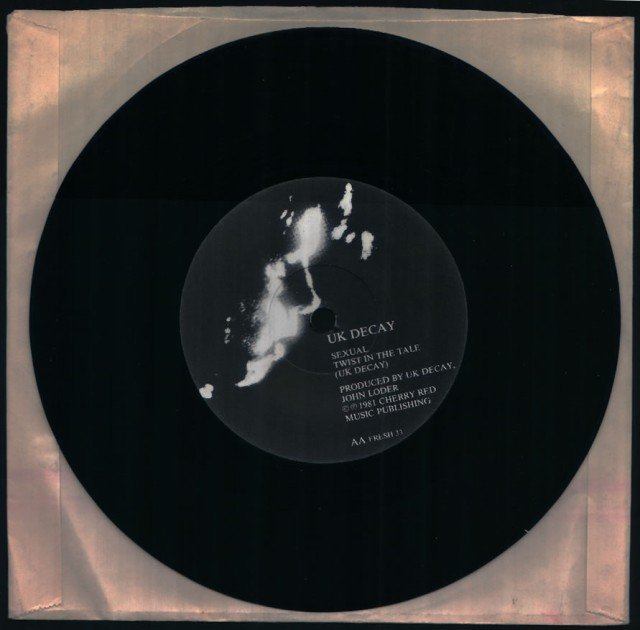 Sexual/Twist In The Tail: UK Decay; Fresh Records; label 2