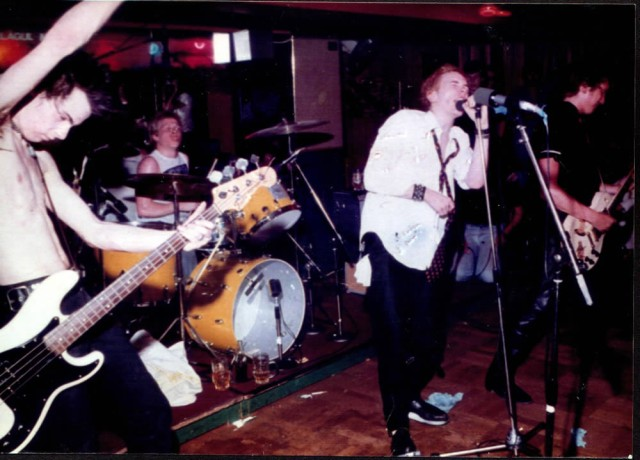 TheSpots  It was all their fault!  supported many a lu7 band!