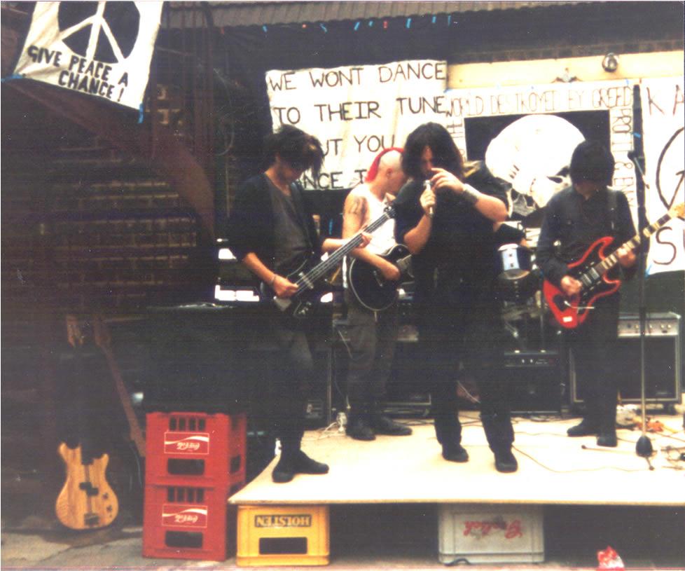 Karma Sutra at the Blockers 1984 001