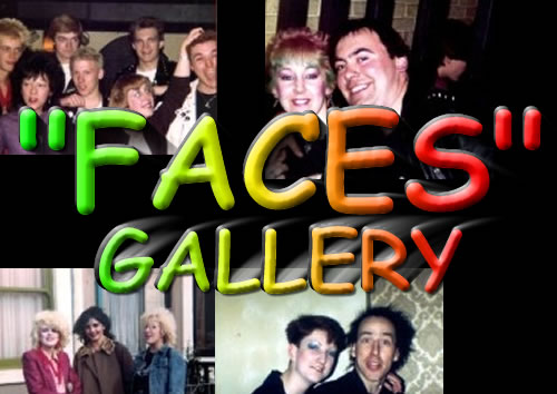 "1977 - 1989 Punk ""Faces"" Gallery"