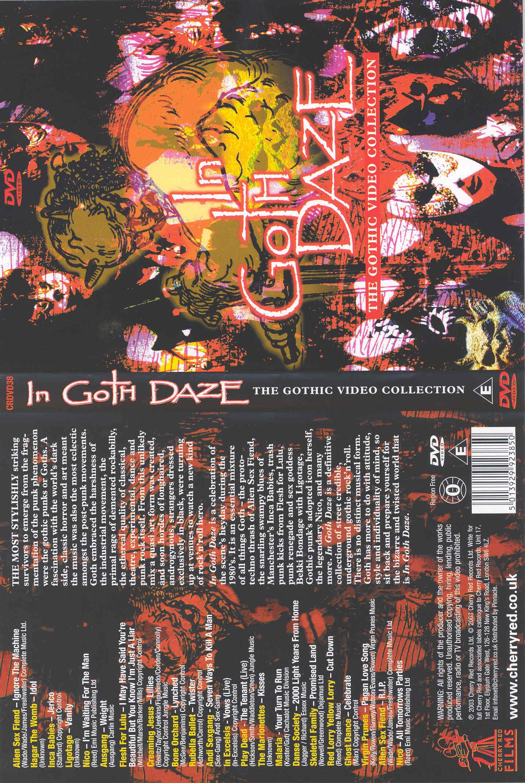 In Goth Daze DVD