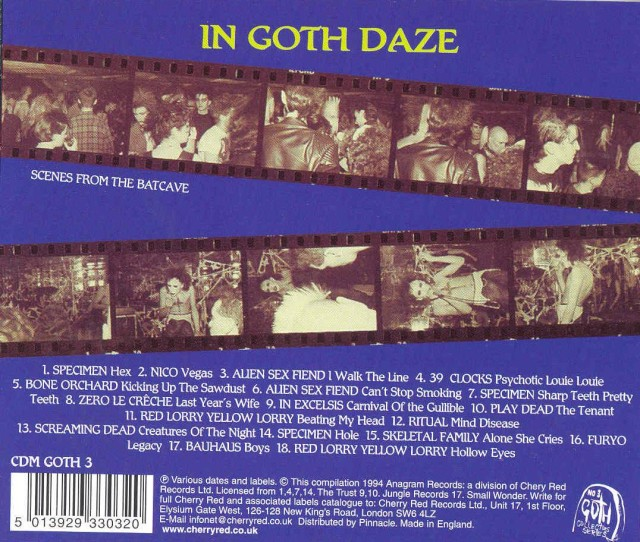 In Goth Daze back