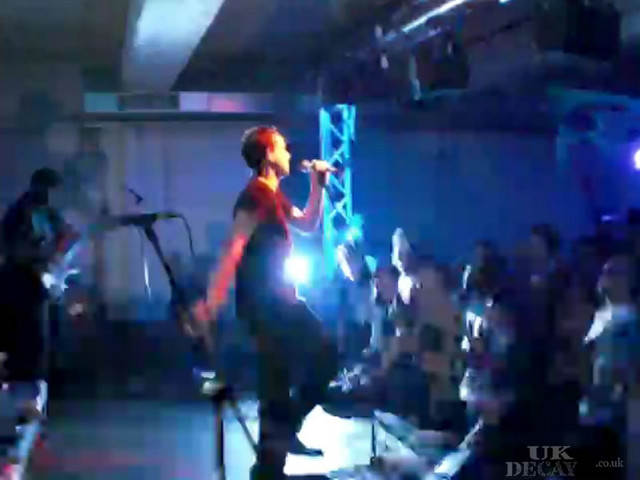 UK DECAY LIVE at DROP DEAD VI   Steve Spon's perspective on UK Decay @ Drop Dead VI, here