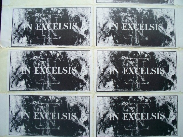 In Excelsis Stickers