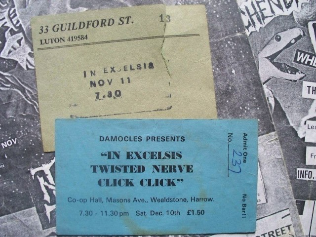 In Excelsis Tickets