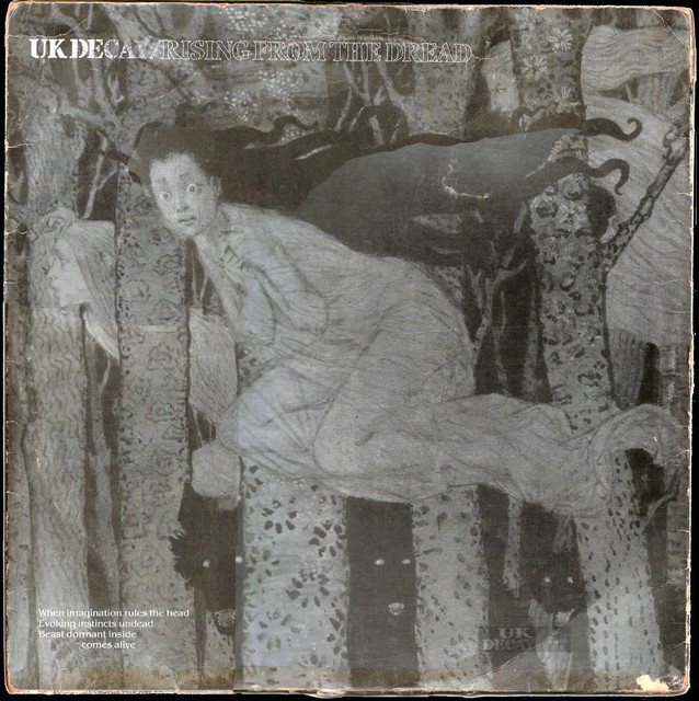 Rising From The Dread; UK Decay; Chorpus Christie; 1982: front
