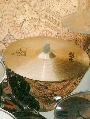 Gregs Alpha-paiste 20 inch ride Cymbal