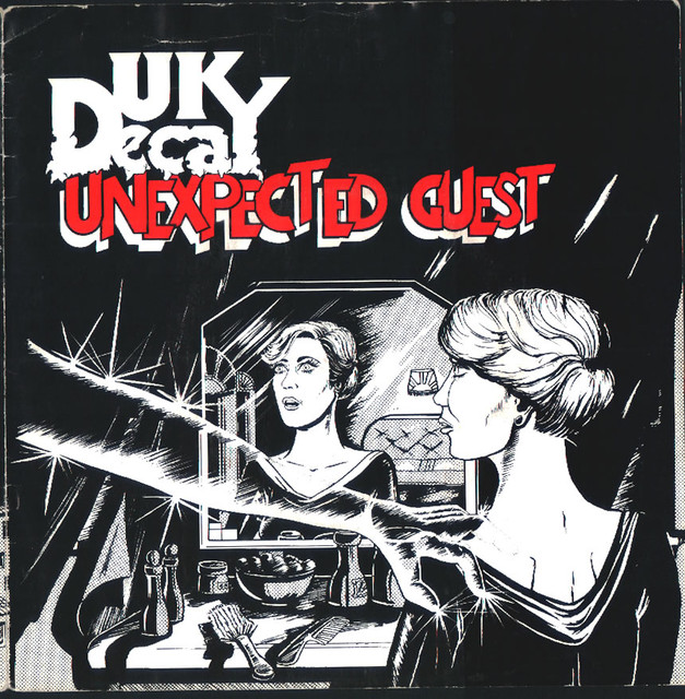 Unexpected Guest/Dresden: UK Decay: Fresh Records; 1981: front cover