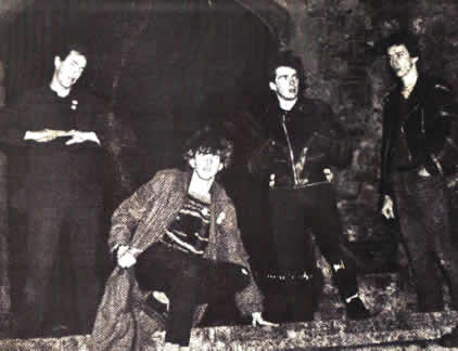 Late 1979 with Spon in the new line-up