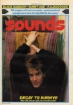 Sounds front cover 1983.  UK Decay or Abbo makes the front cover!